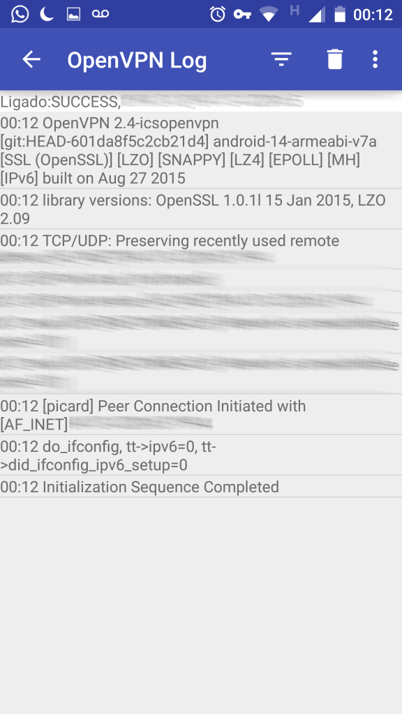 OpenVPN android - 3
